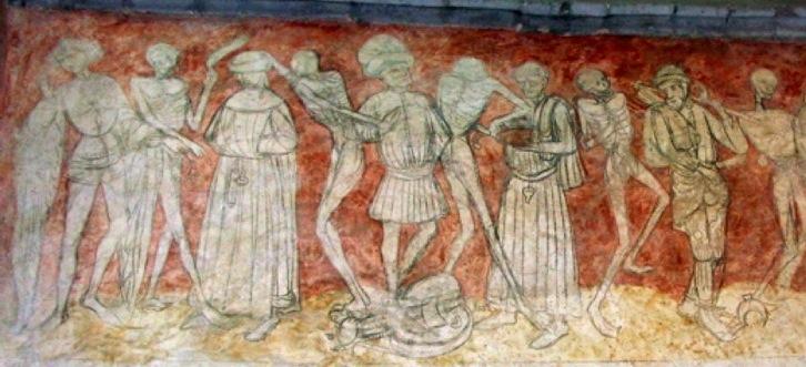 La maison de la barre buxerolles maison histoire peste for Chaise dieu danse macabre